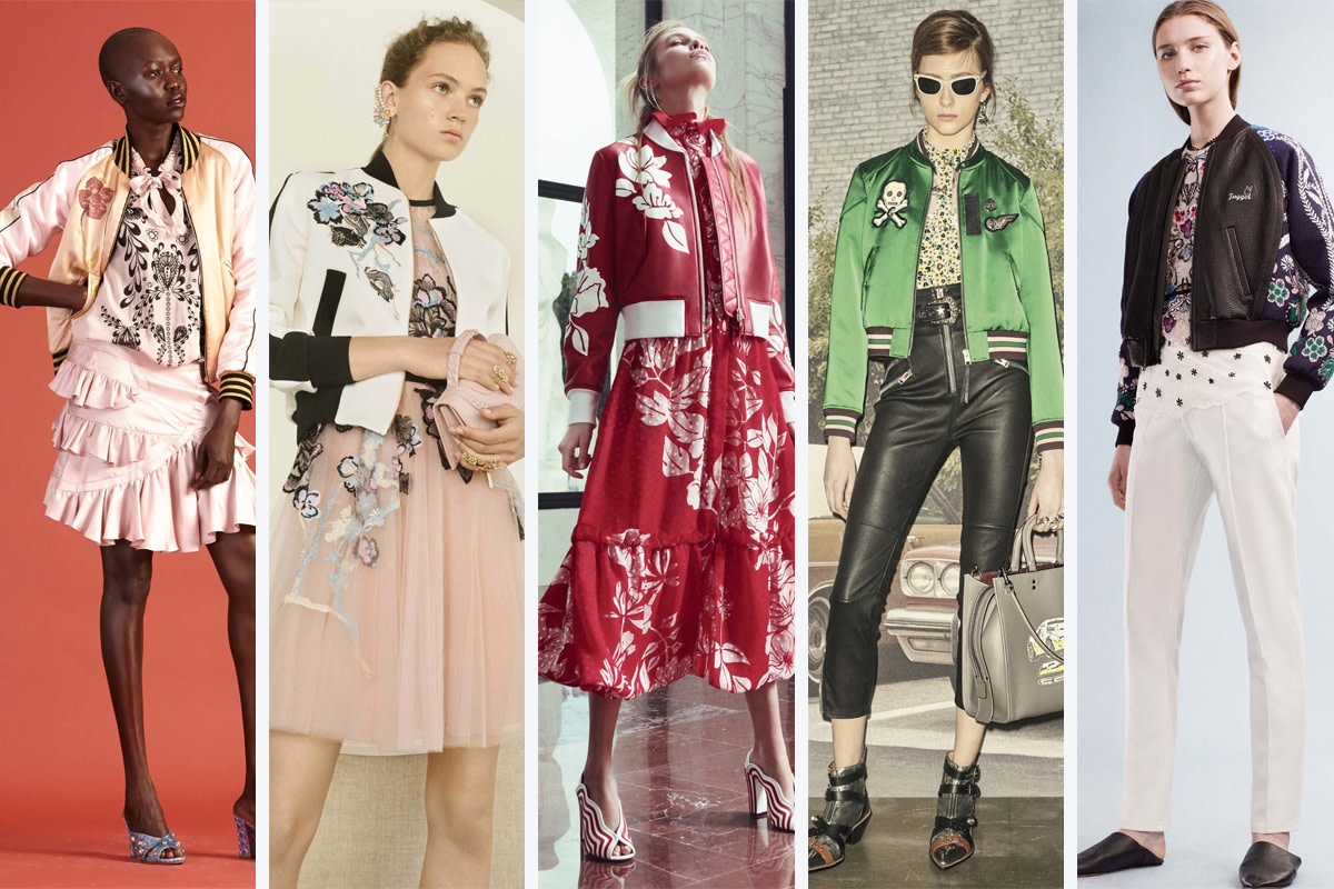 From left to right: Cynthia Rowley, Elie Saab, Fendi, Coach, Yigal Azrouel