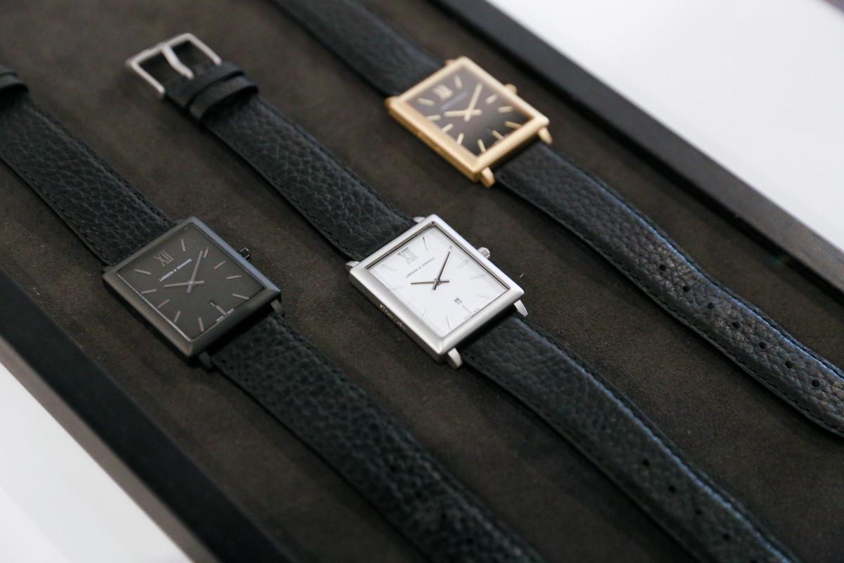 The new Larsson & Jennings 'Norse' watch. Photo: BFA
