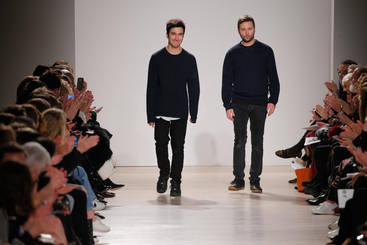 Proenza Schouler designers Lazaro Hernandez and Jack McCollough. Photo: Getty Images
