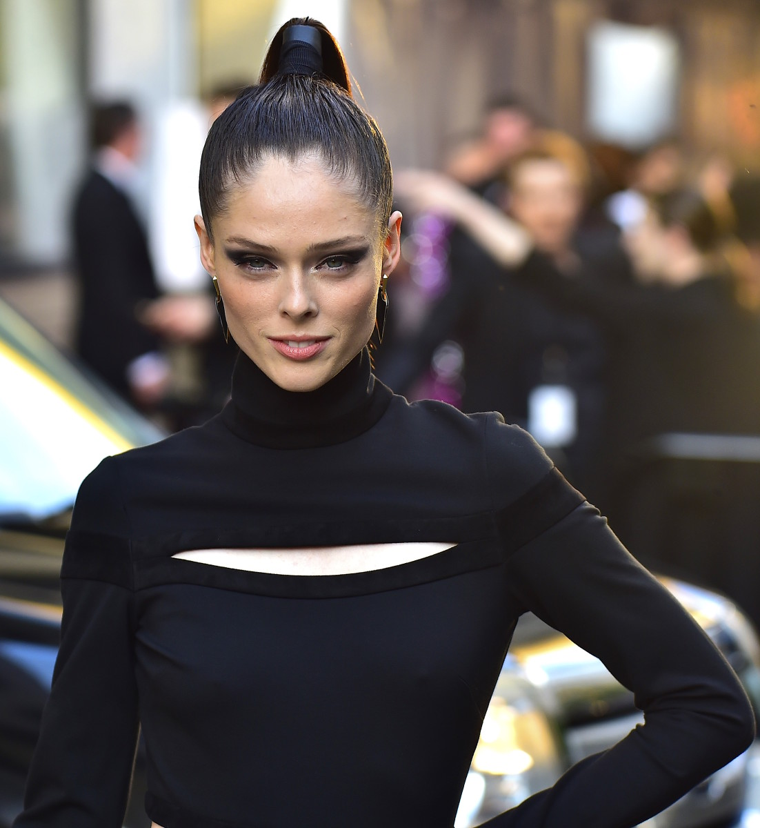 Coco Rocha at the 2016 CFDA Awards. Photo: Getty Images