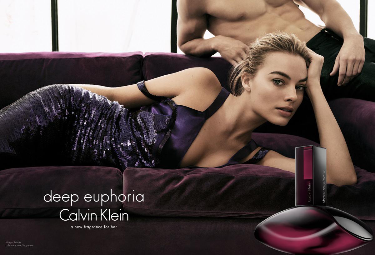 Margot Robbie for Deep Euphoria. Photo: Calvin Klein