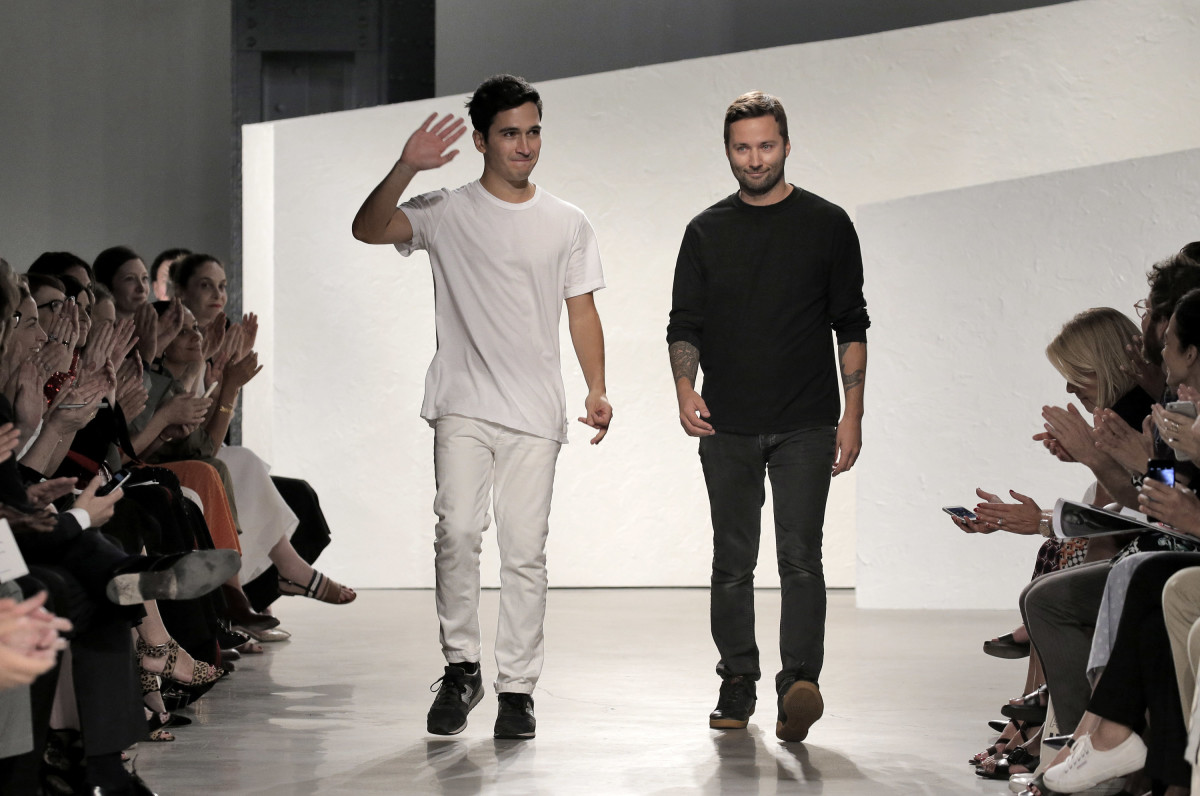 Proenza Schouler designers Lazaro Hernandez and Jack McCollough. Photo: Getty Images