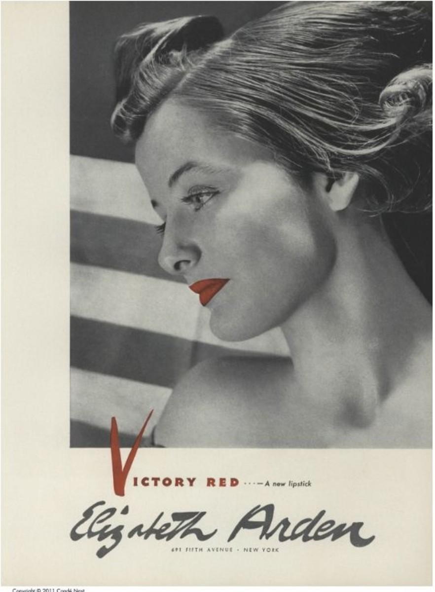 Vintage Elizabeth Arden ad.