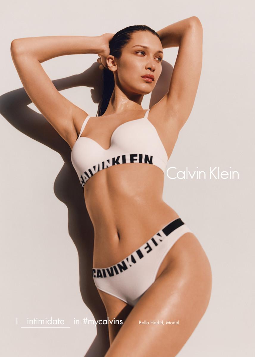 Bella Hadid in Calvin Klein's fall 2016 campaign. Photo: Tyrone Lebon/Calvin Klein