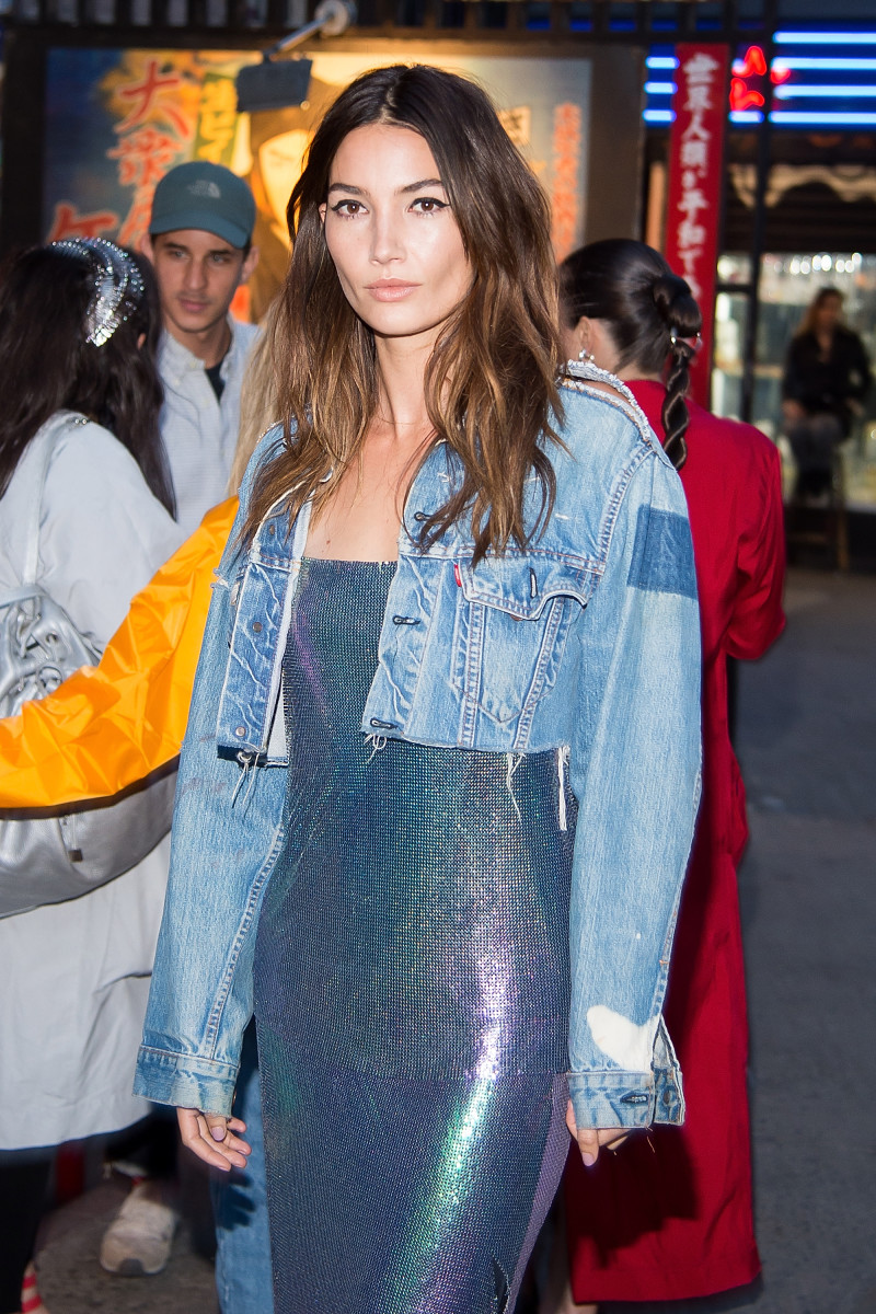 She of the perfect hair, Lily Aldridge. Photo: Michael Stewart/Getty Images