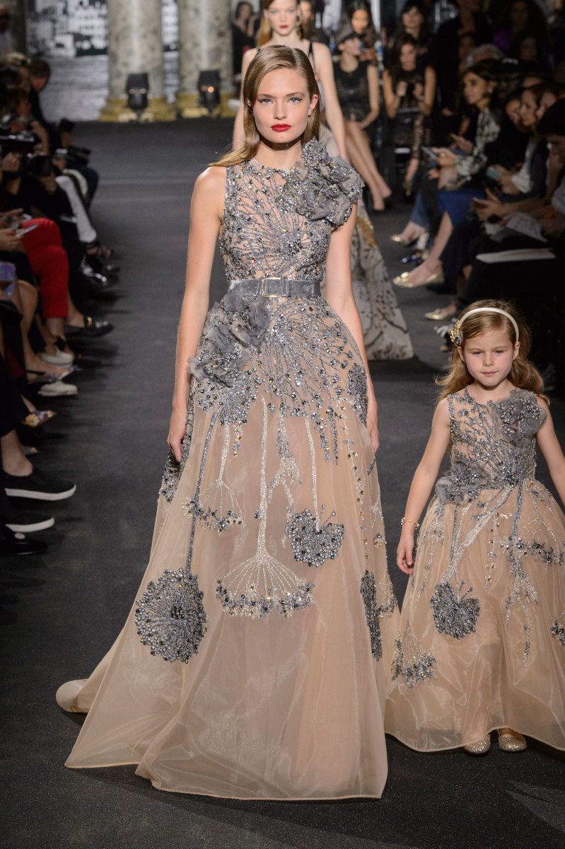 Elie Saab Showed Mommy and Me Couture Gowns on the Runway - Fashionista
