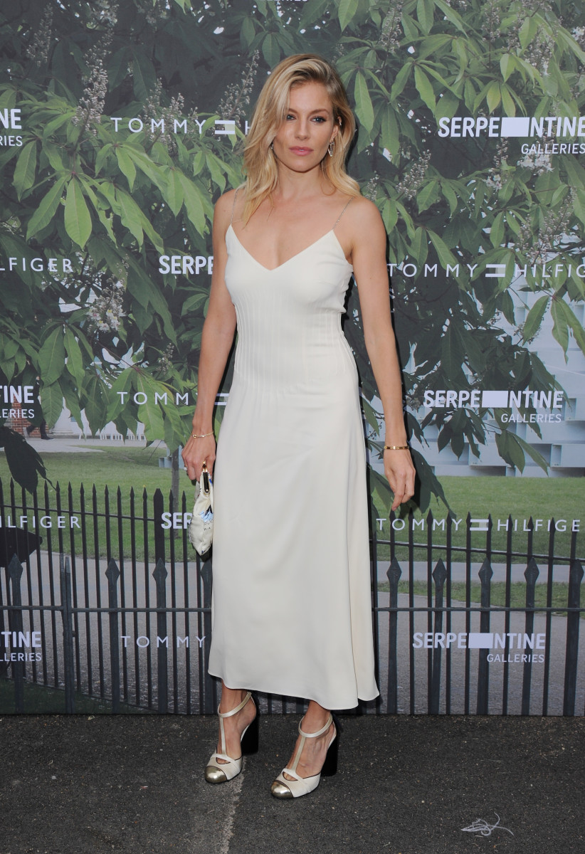Sienna Miller in Tommy Hilfiger at the Serpentine Galleries' annual Summer Party in London on Wednesday. Photo: Eamonn M. McCormack/Getty Images