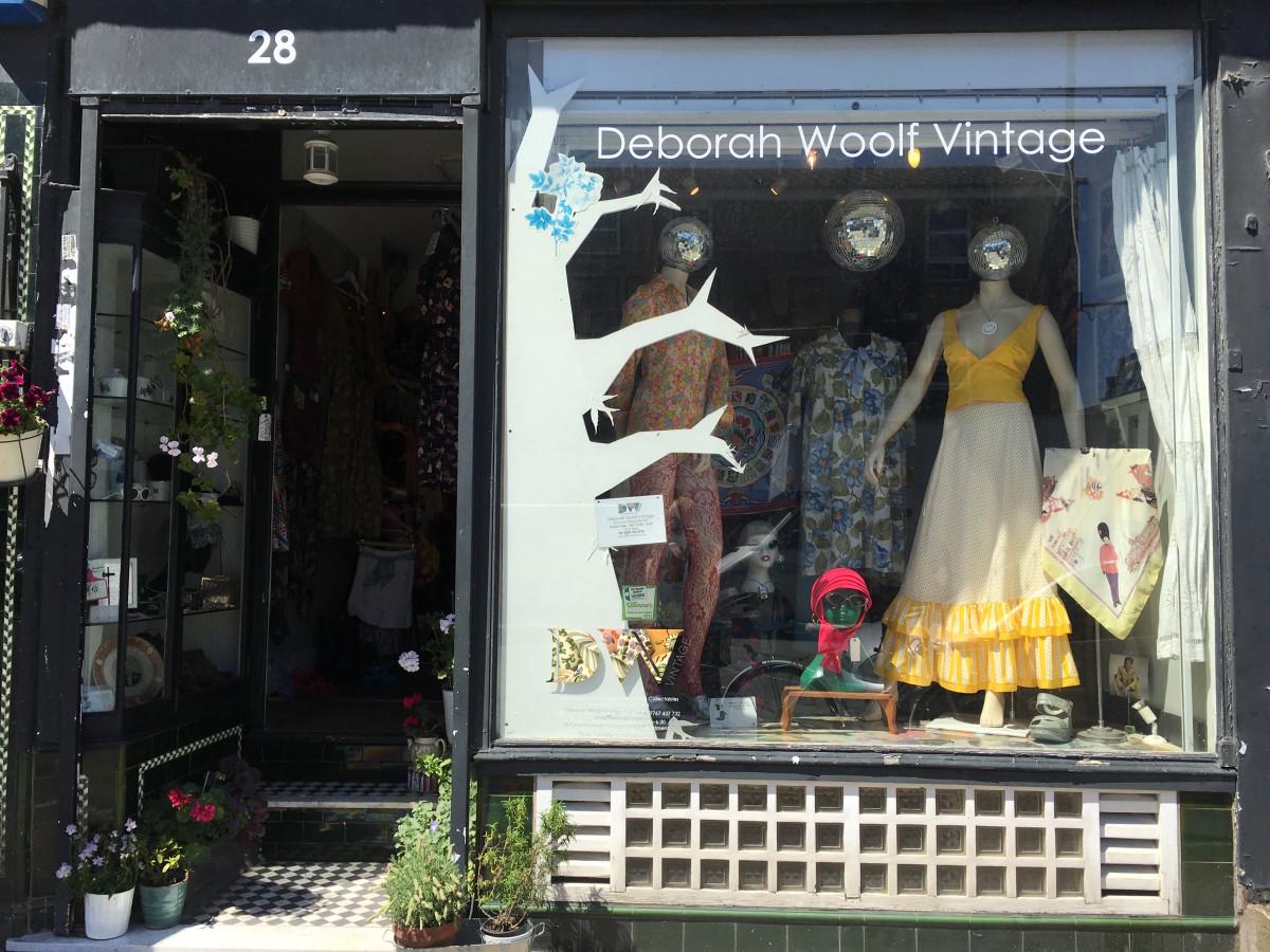 Deborah Woolf Vintage is located at 28 Church Street. Photo: Lauren Indvik/Fashionista