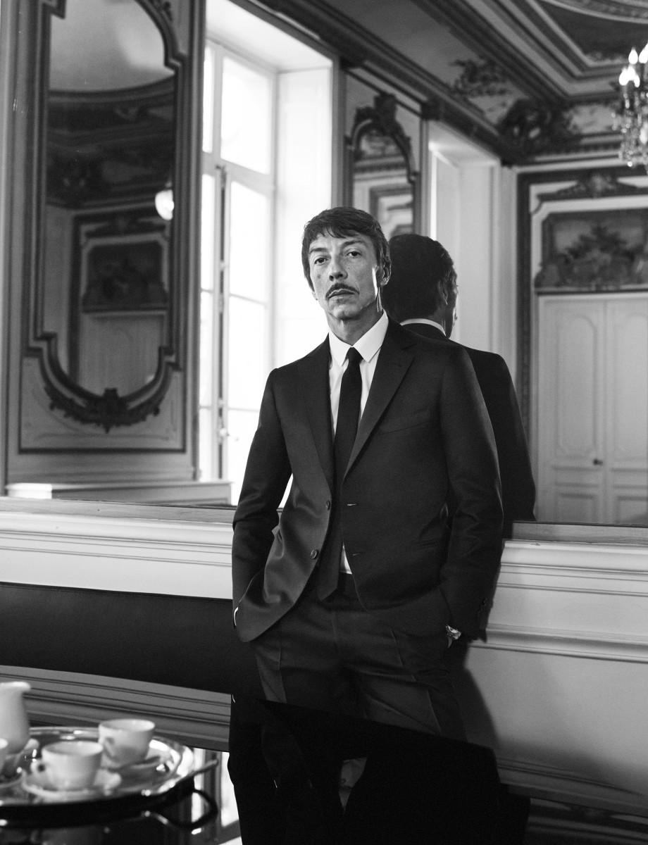 Pierpaolo Piccioli. Photo: courtesy of Valentino ph David Sims