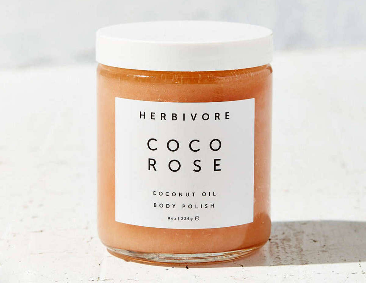 Herbivore Coco Rose body polish, $36, available at Urban Outfitters