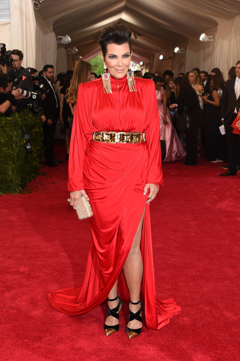 Kris Jenner at the 2015 Met. Photo: Larry Busacca/Getty Images