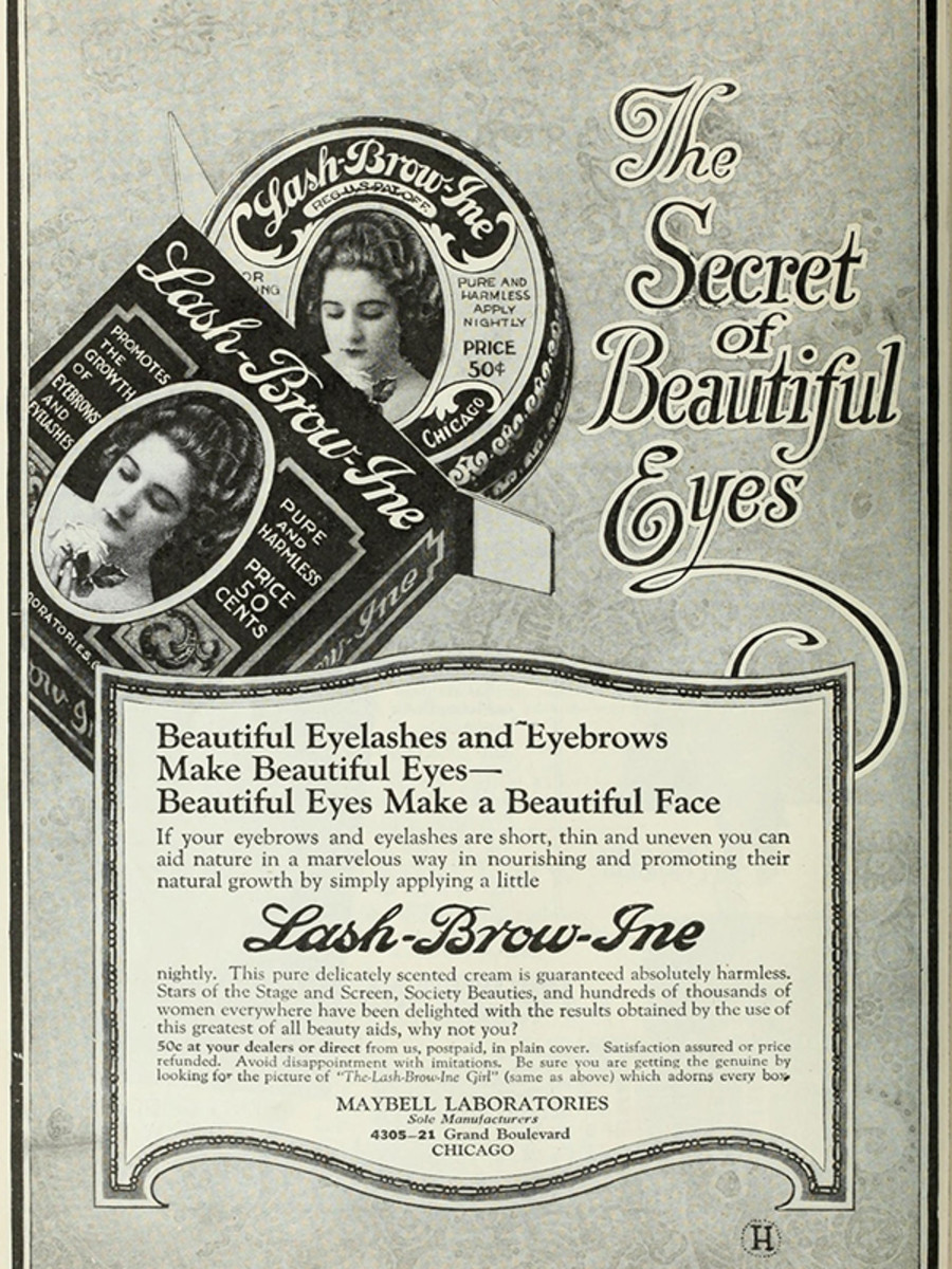100 Years Of Maybelline Ads Show How Little Has Changed In