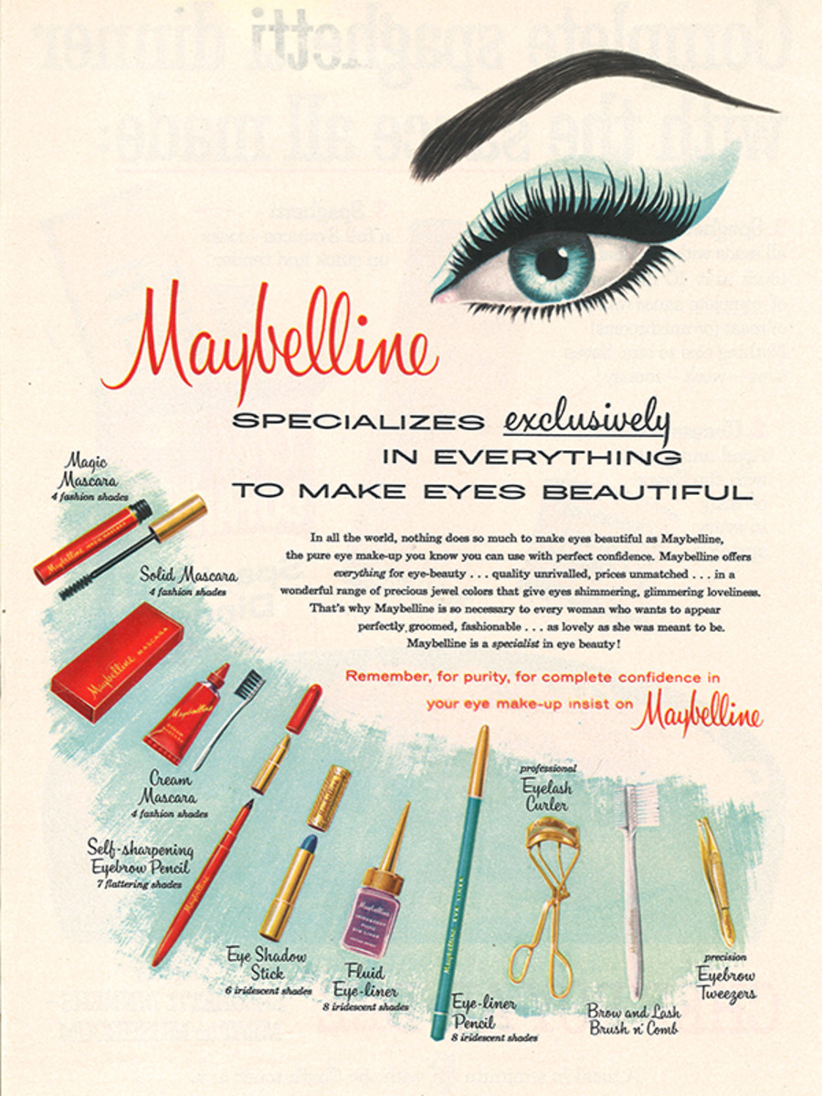 100 Years of Maybelline Ads Show How Little Has Changed in Beauty