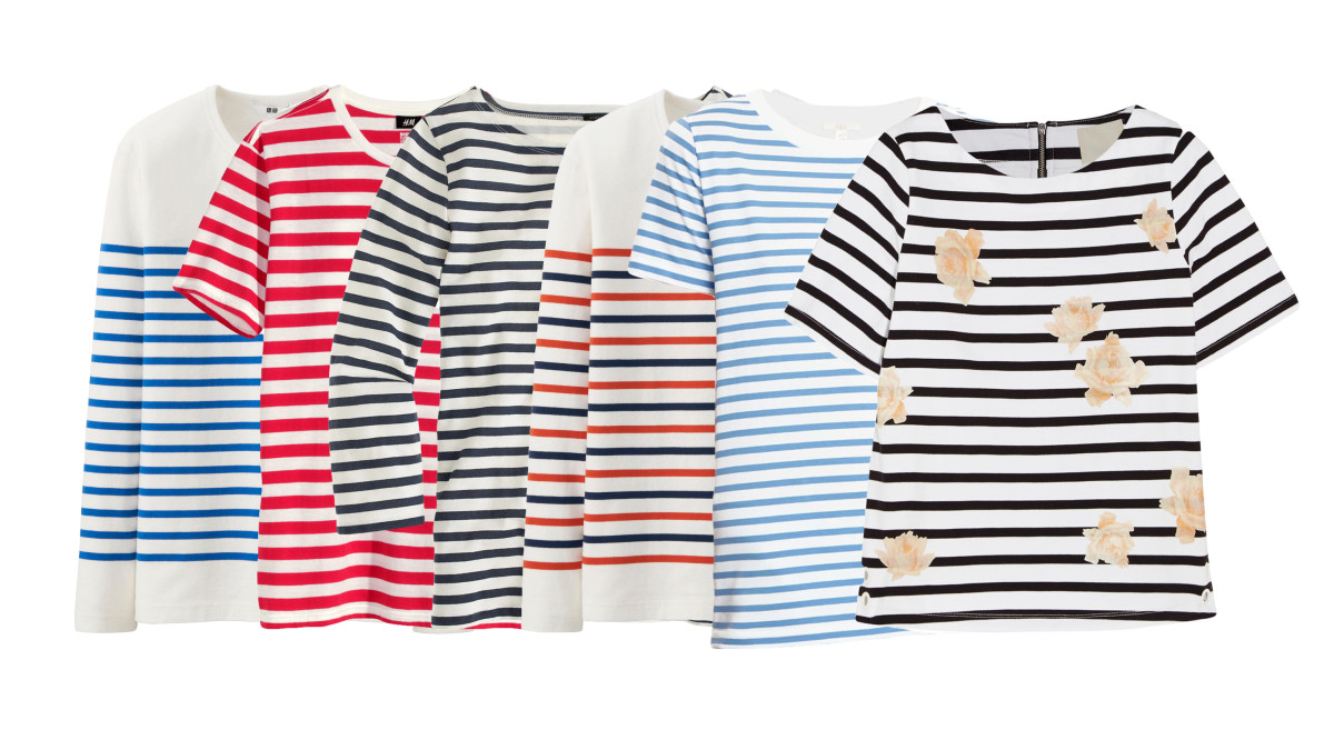 12e786dbf3b Is there anything more versatile than a striped t-shirt  In the summer  time