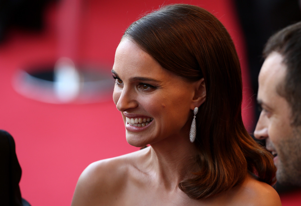 Portman on the red carpet at Cannes. Photo: Andreas Rentz/Getty Images