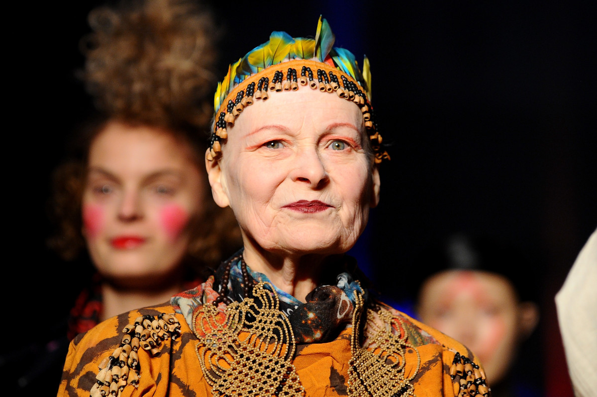 Vivienne Westwood in 2014. Photo: Francois Durand/Getty Images