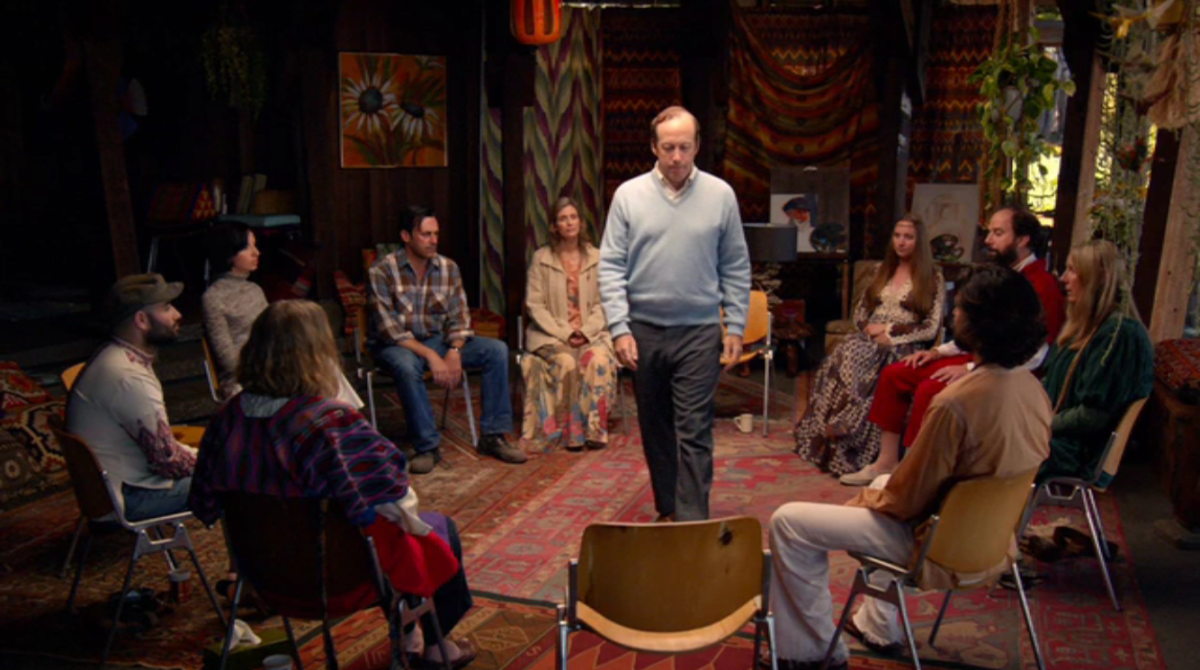 The retreat got a stellar deal on oriental rugs, apparently. Screengrab: AMC