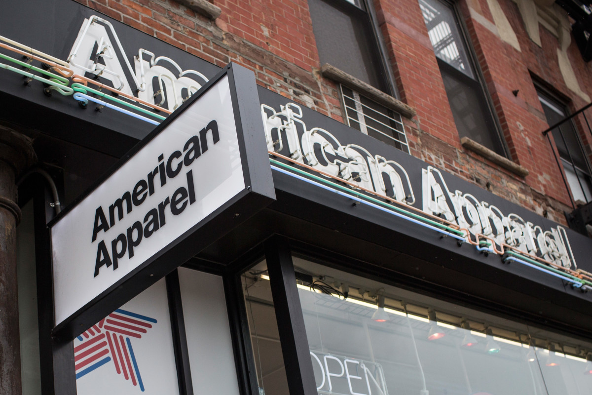 An American Apparel store. Photo: Andrew Burton