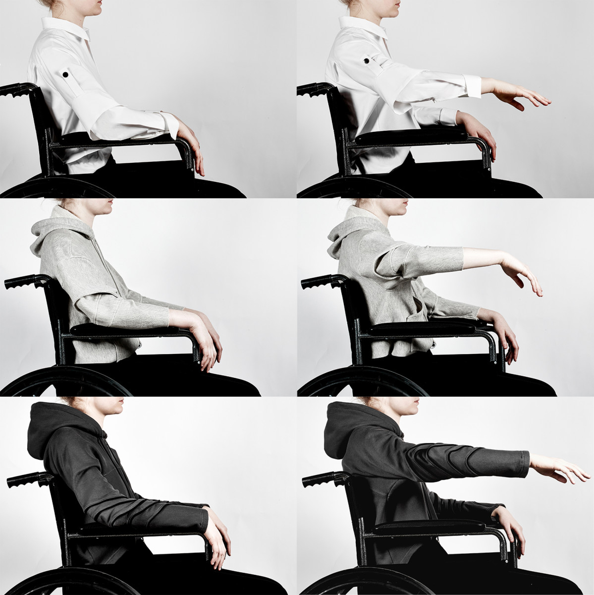 """Parsons student Lucy Jones's """"Seated Collection."""" Photo: Lucy Jones"""