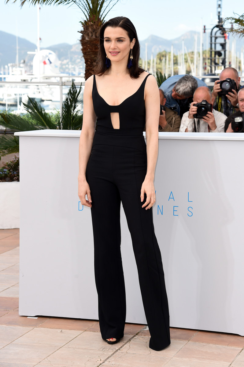 "Rachel Weisz in Narciso Rodriguez at a photocall for ""The Lobster"" during the 68th annual Cannes Film Festival. Photo: Ben A. Pruchnie/Getty Images"