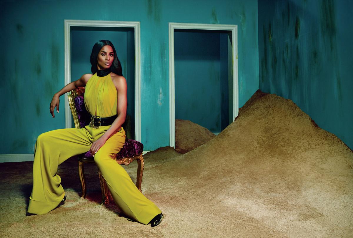 Ciara stars in Roberto Cavalli's fall 2015 campaign. Photo: Roberto Cavalli