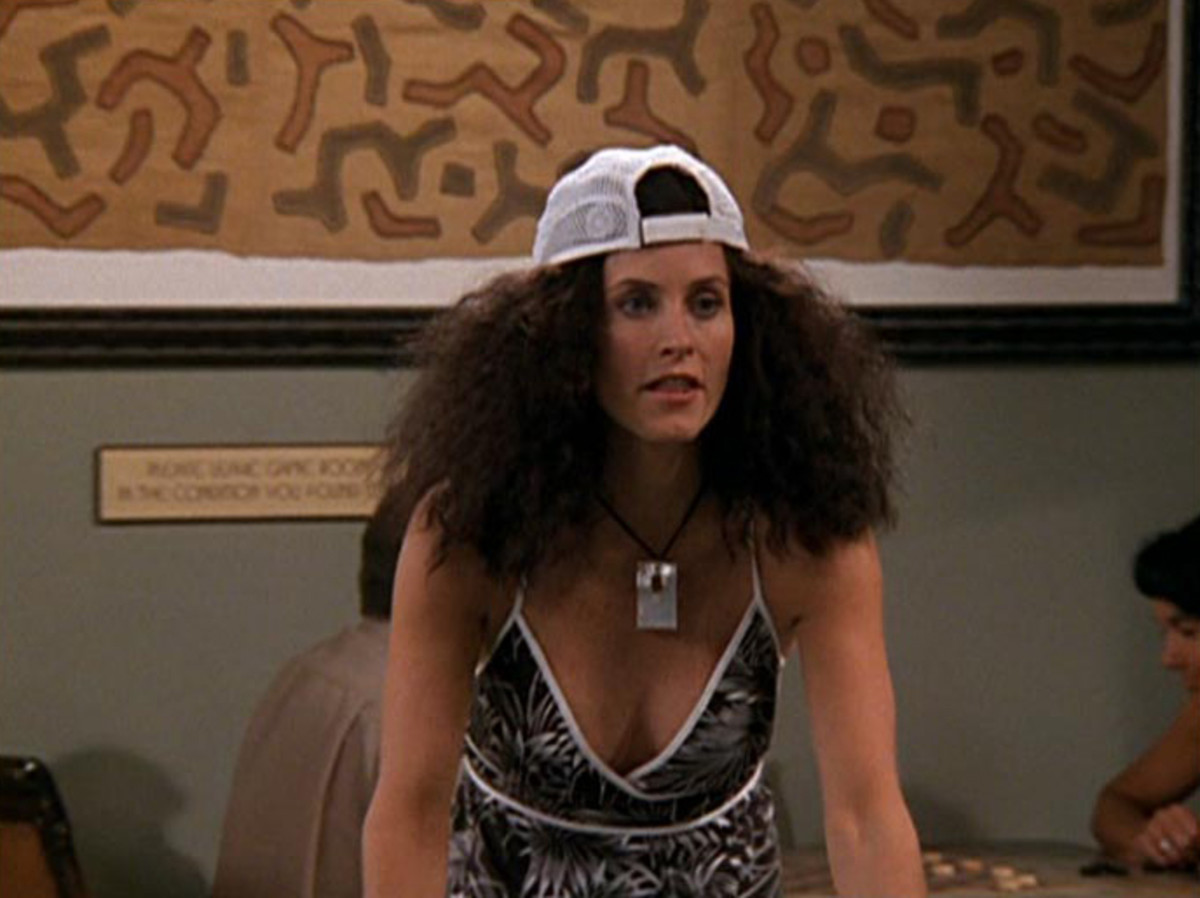 """It's the humidity!"" Screengrab: ""Friends""/NBC"