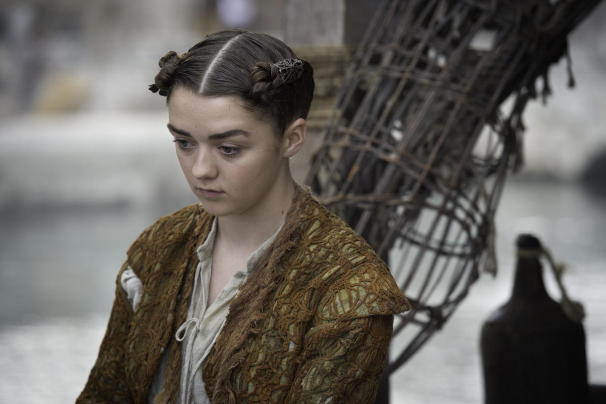 Arya finally gets a hairstyle. Photo: Macall B. Polay/HBO