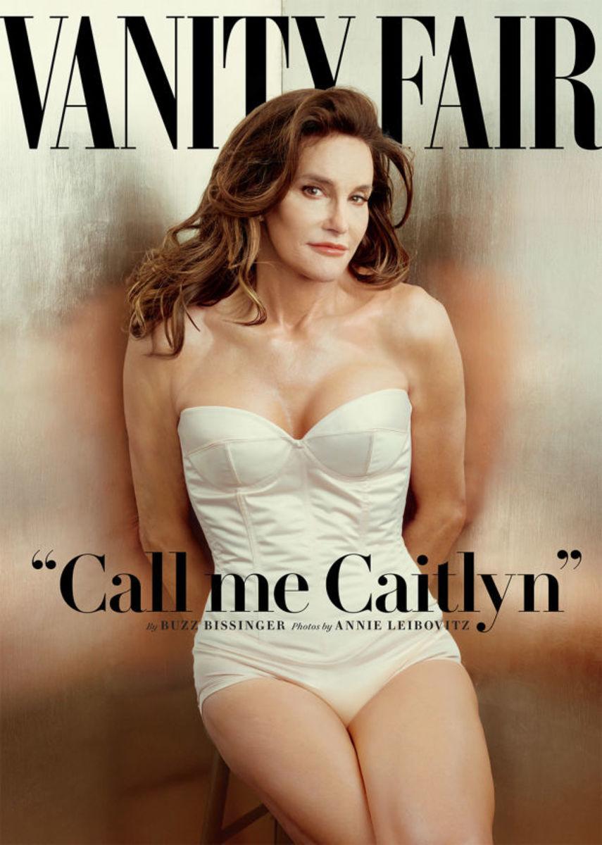 """Caitlyn Jenner on the cover of """"Vanity Fair."""" Photo: Annie Lebovitz"""