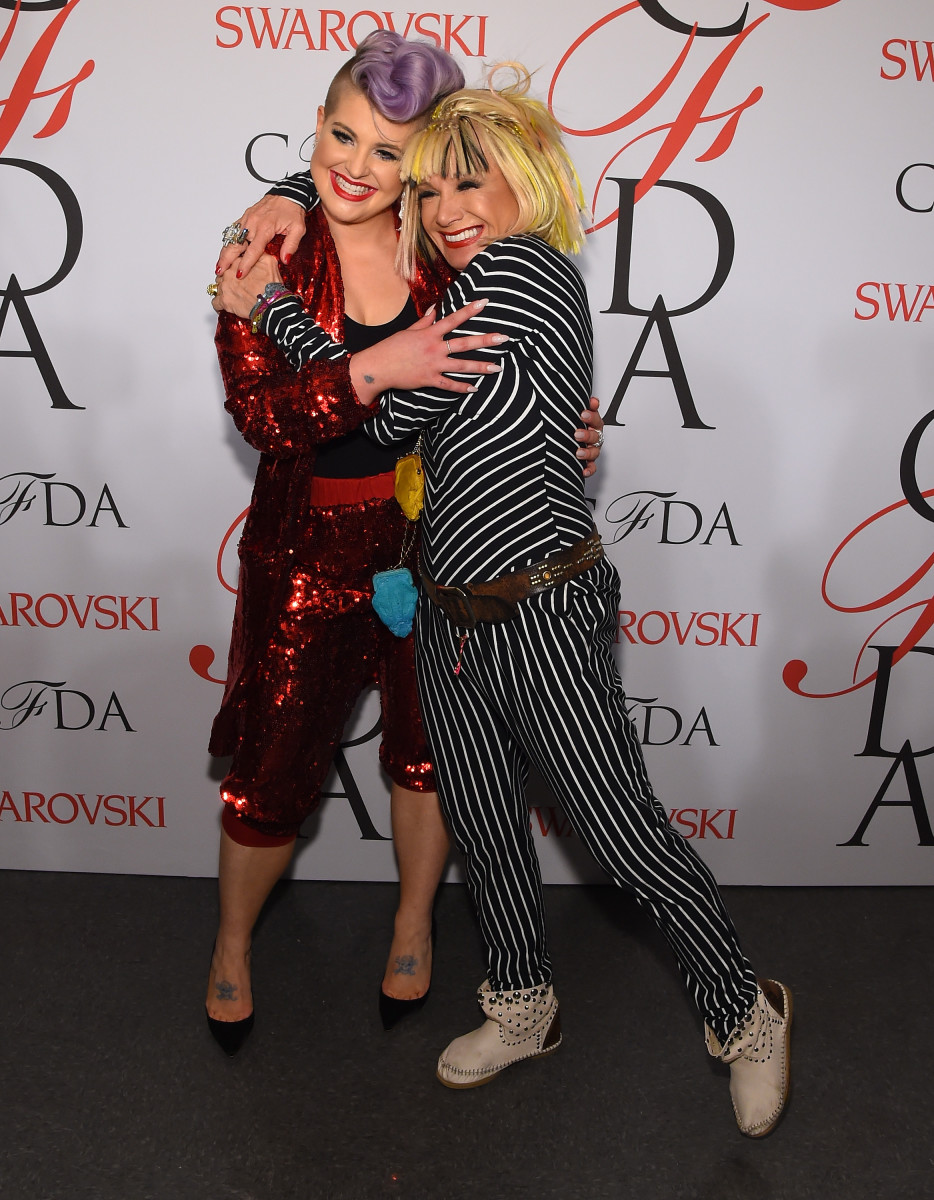 Kelly Osbourne and Betsey Johnson. Photo: Larry Busacca/Getty Images