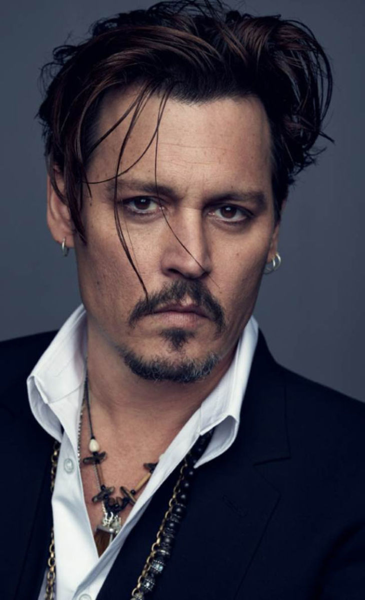 Johnny Depp is serious about fragrance. Photo: Dior
