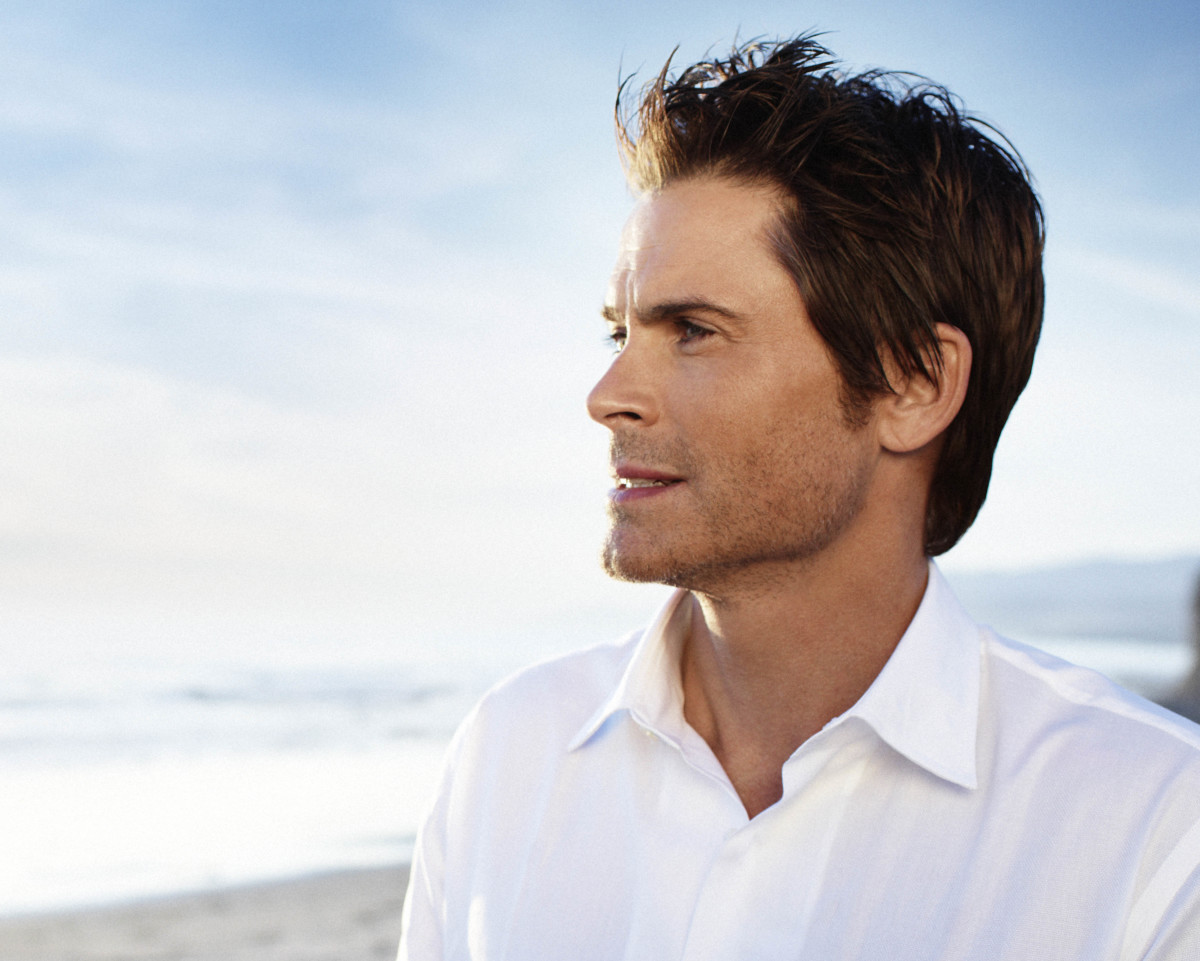 Rob Lowe, perennially handsome gent. Photo: Profile