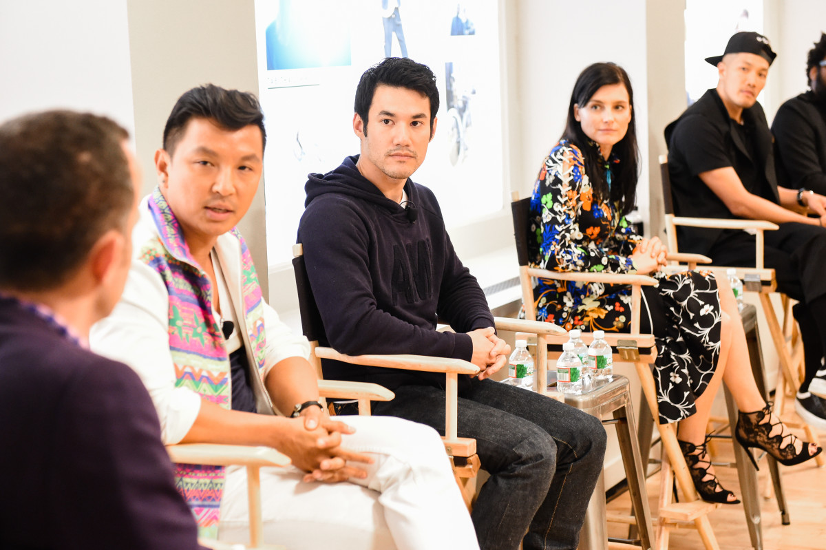 Prabal Gurung, Joseph Altuzarra, Tabitha Simmons and Dao-Yi Chow. Photo: J.Crew