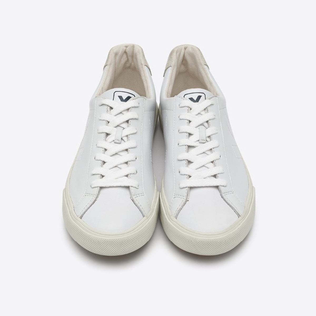 Veja Esplar leather extra white sneakers, $115, available at Veja and Zady.