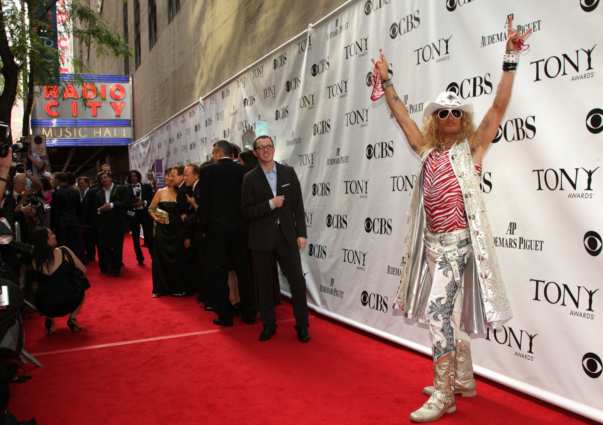 """Actor James Carpinello in his """"Rock of Ages"""" costume in 2009. Photo: Bryan Bedder/Getty Images"""