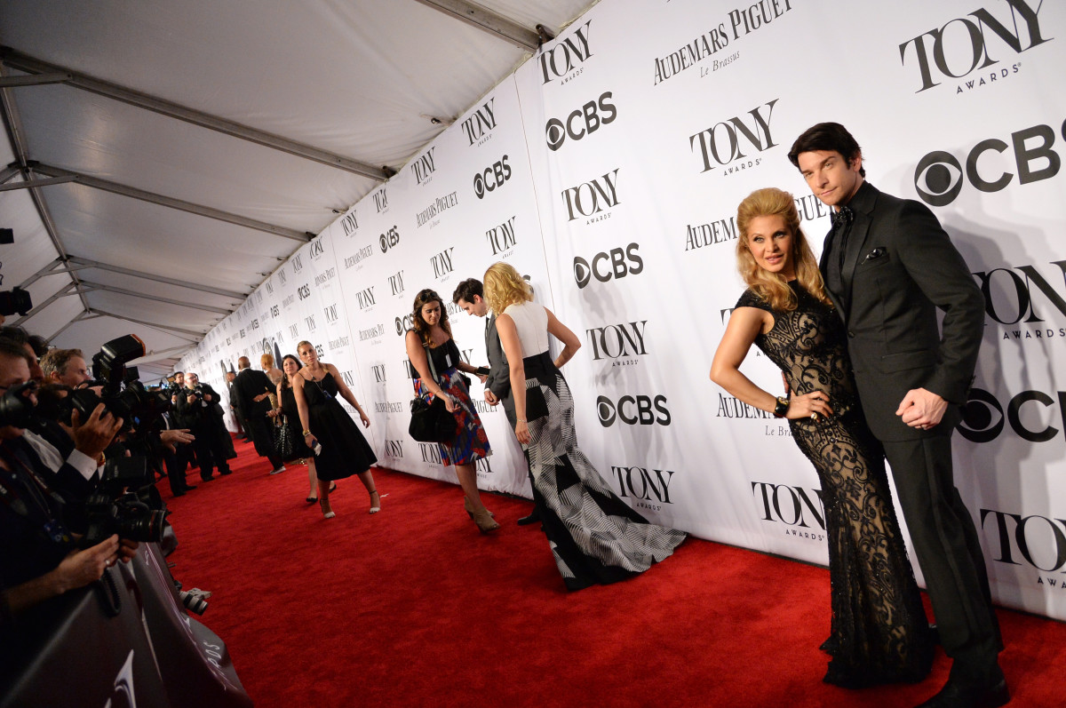 The 2014 Tony Awards red carpet. Photo: Mike Coppola/Getty Images