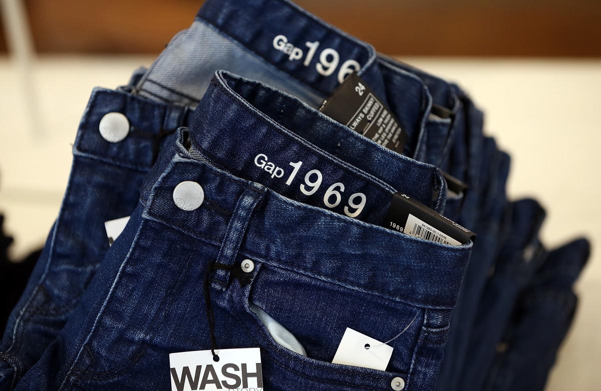Gap jeans. Photo: Justin Sullivan/Getty Images
