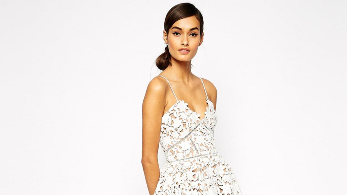 10aebcc5775 Chantal s Lace Overlay Dress - Fashionista