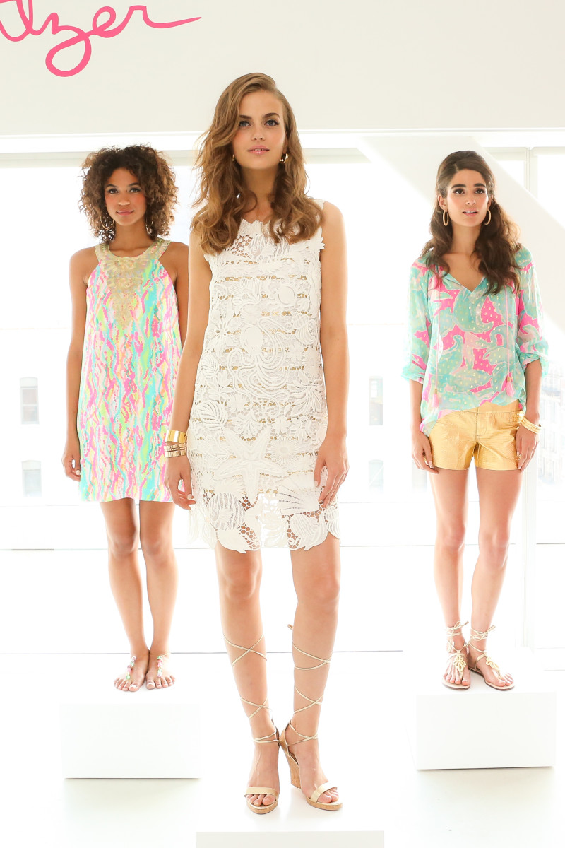A look from Lilly Pulitzer's resort presentation on Thursday.