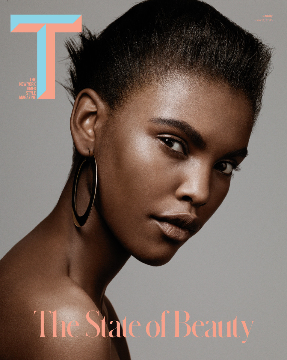 The 'T' Summer Beauty issue comes out on Sunday.  Photo: T