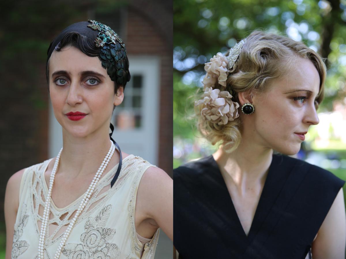 A little razzle dazzle for the hair. Photo: Sam Aldenton/Fashionista