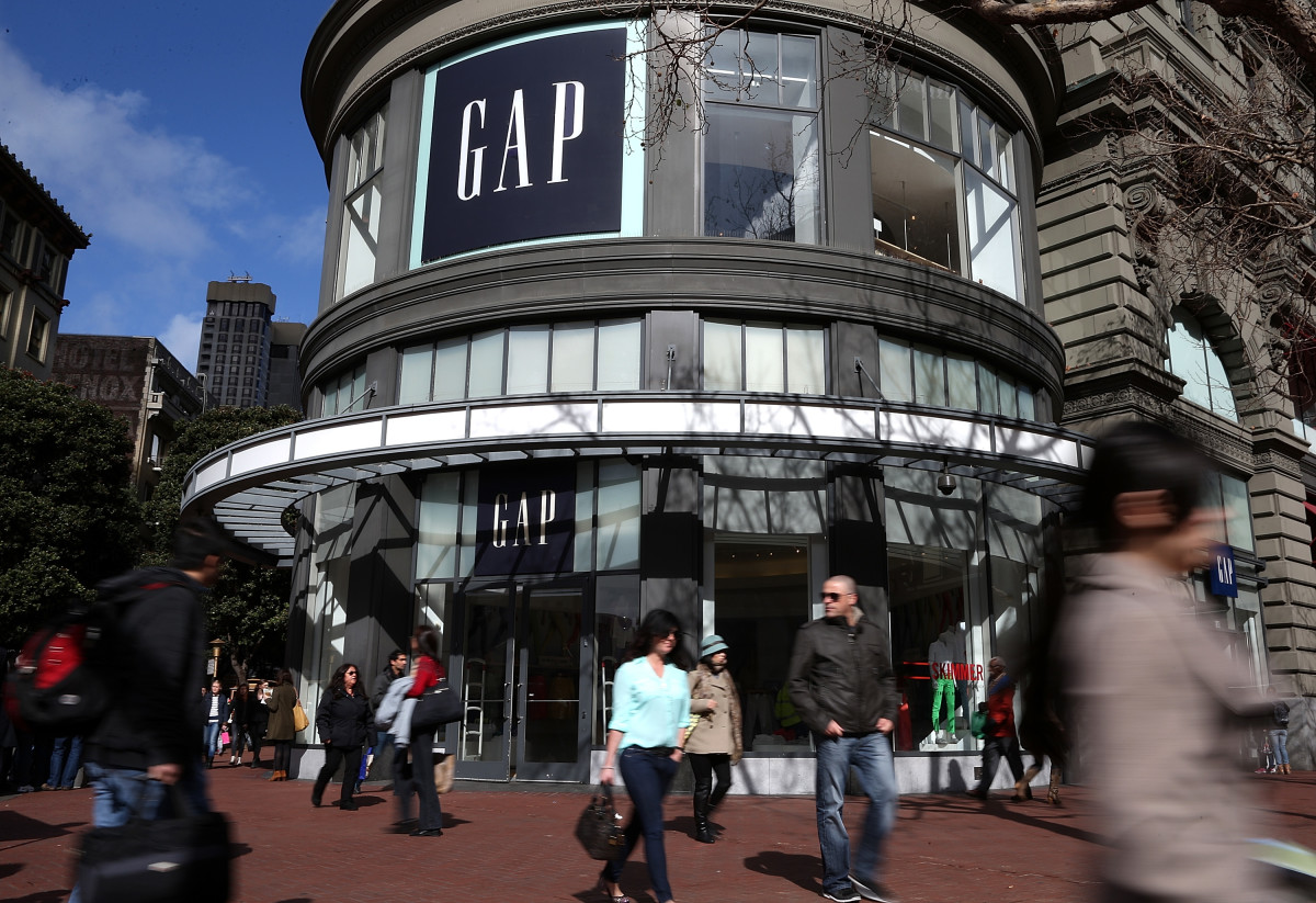 A Gap store in San Francisco. Photo: Justin Sullivan/Getty Images
