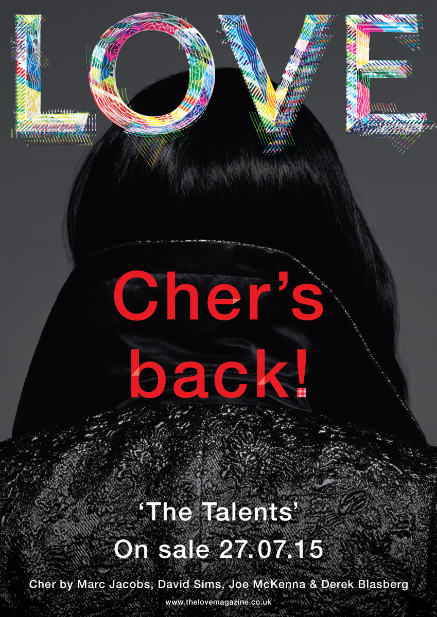 Cher's 'Love' cover. Photo: 'Love' magazine