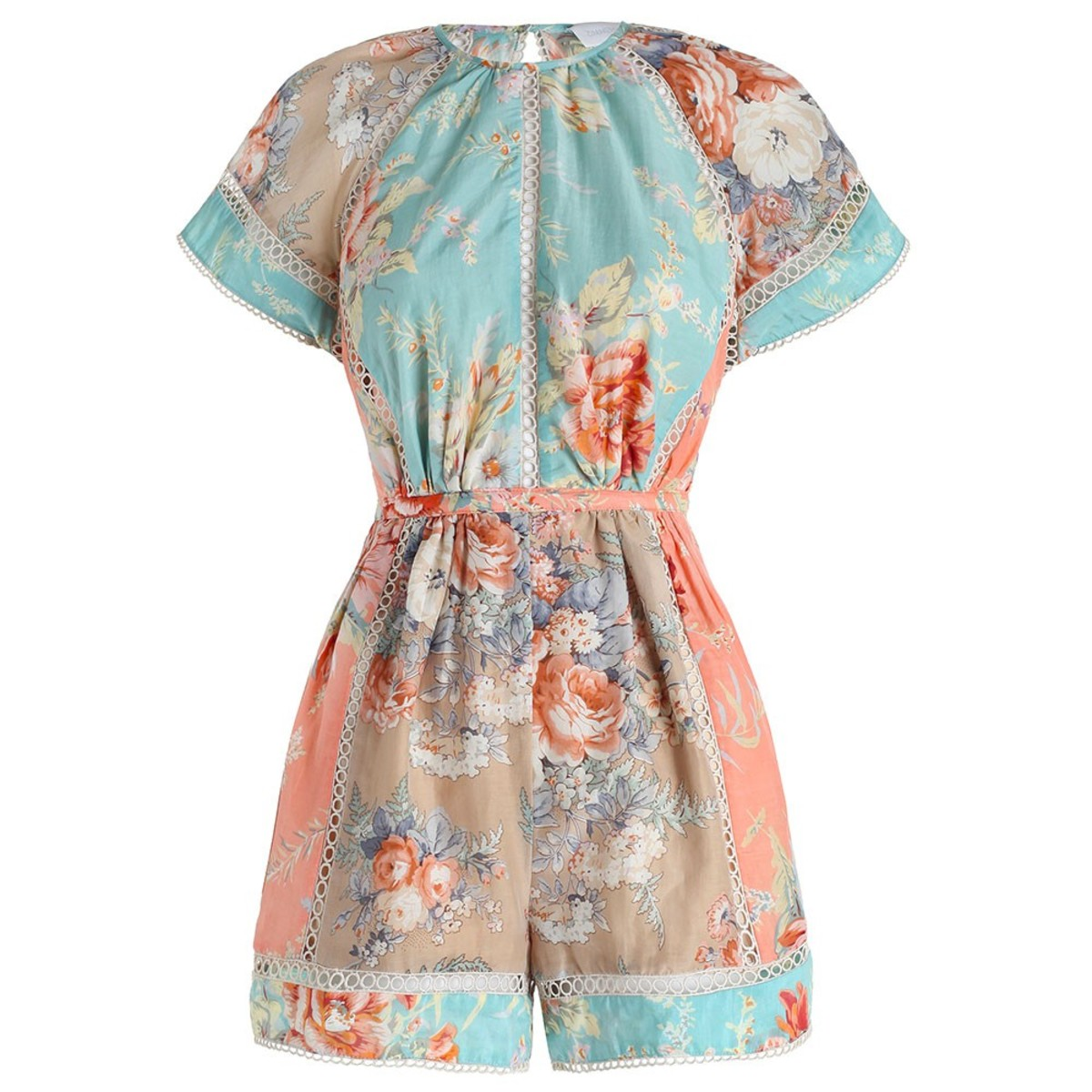 Anais floral playsuit, $420, available at Zimmermann.