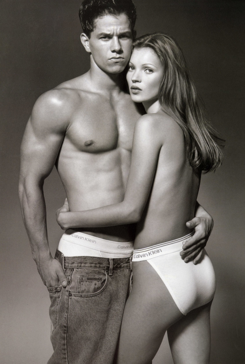 Photo: Herb Ritts for Calvin Klein