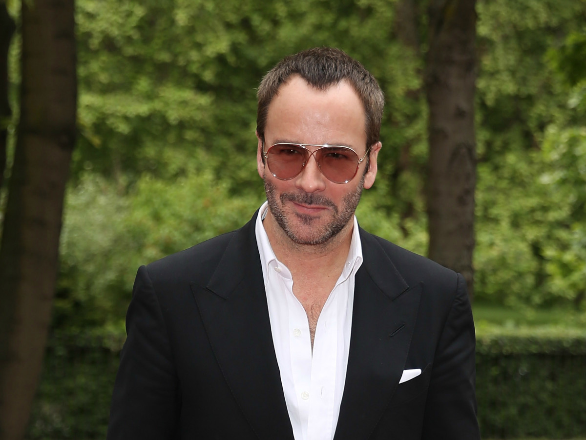 "Tom Ford at a London screening of ""The True Cost"" in May. Photo: Tim P. Whitby/Getty Images"