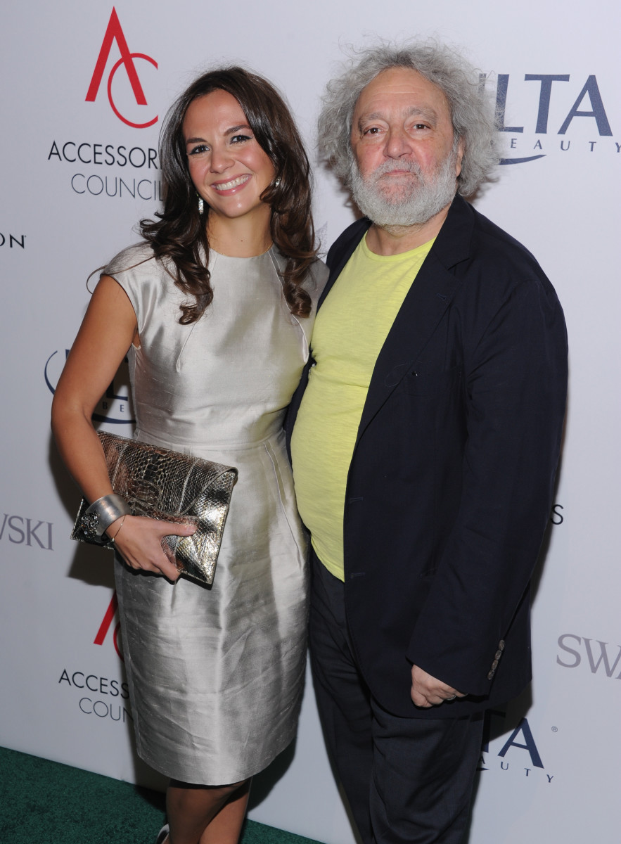 Kate and Carlos Falchi at the Accessories Council Excellence (ACE) Awards in 2013. Photo: Jim Spellman/WireImage
