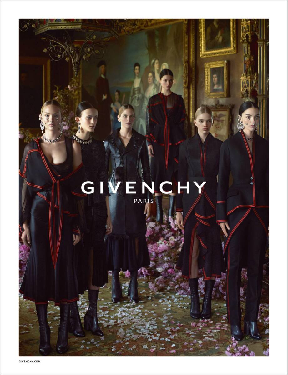 The fall 2015 Givenchy campaign. Photo: Givenchy