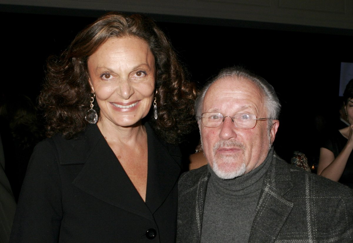 Diane Von Furstenberg and Stan Herman at the FedEx Corp and CFDA celebration of his 16-year CFDA presidency in 2006. Photo: Donna Ward/Getty Images
