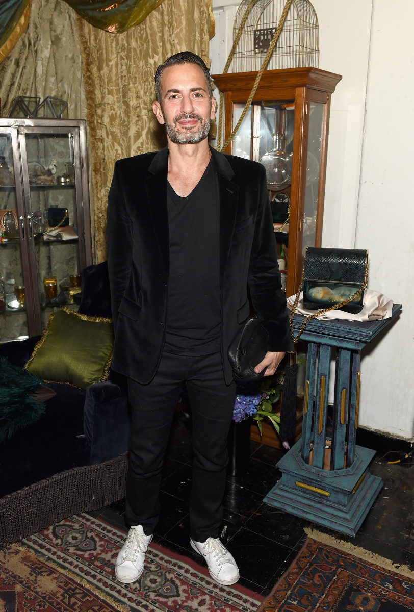 Marc Jacobs clothed earlier this month. Photo: Dimitrios Kambouris/Getty Images