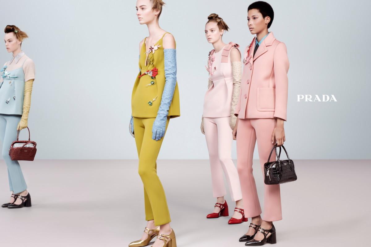 Prada's fall 2015 campaign. Photo: Steven Meisel/Prada